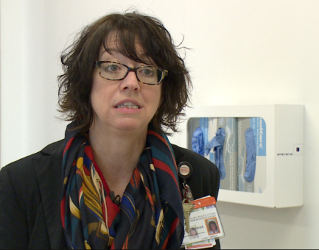 Shelly Schmidt, Manager of Infection & Control says patients are safer in this new facility.