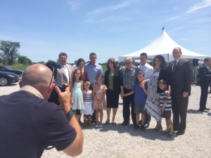The O'Keefe family farm is the recommended site for the New Single-Site Acute Care Hospital.